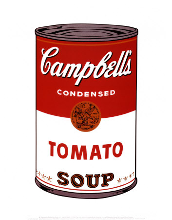 A review of andy warhols famous work the campbells soup can