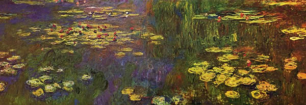 What was claude monet style of painting