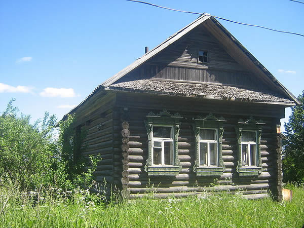 Russian Log House