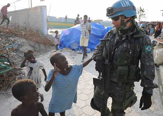 Peacekeeping - The United Nations Blue Helmets and What ...