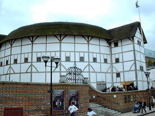 an essay on the globe theaters in the time of william shakespeare Imagine you are living in 1592, shakespeare's time, and you are going to the   as you approach the globe theatre you pass the pits where bear baiting and.