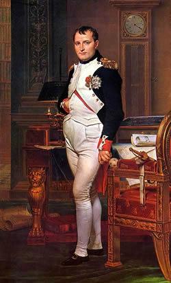 An analysis of the history of warfare and the napoleon bonaparte as a military commander