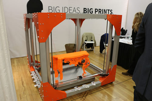 3d printers revolutionize the manufacturing industry for Furniture 3d printing