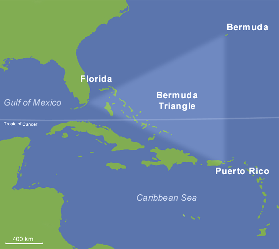 The Bermuda Triangle  Facts and Myths