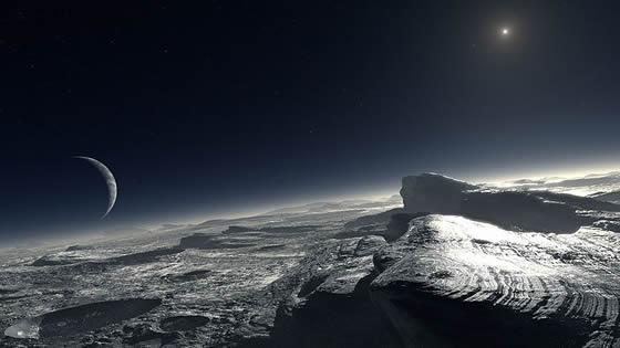 planet pluto surface - photo #15